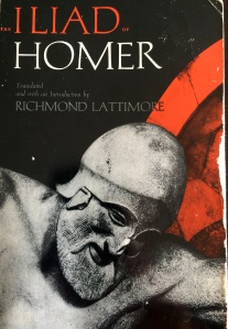 My old, beloved college edition of Lattimore's translation.