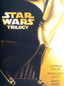 """I've been reading the original """"Star Wars"""" trilogy aloud to my son."""