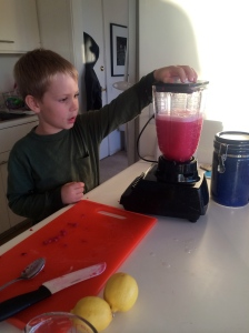 He enjoyed running the blender.