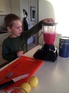 He enjoyed running the blender.
