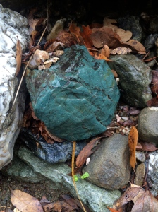 Another chunk of green serpentinite, our state rock.