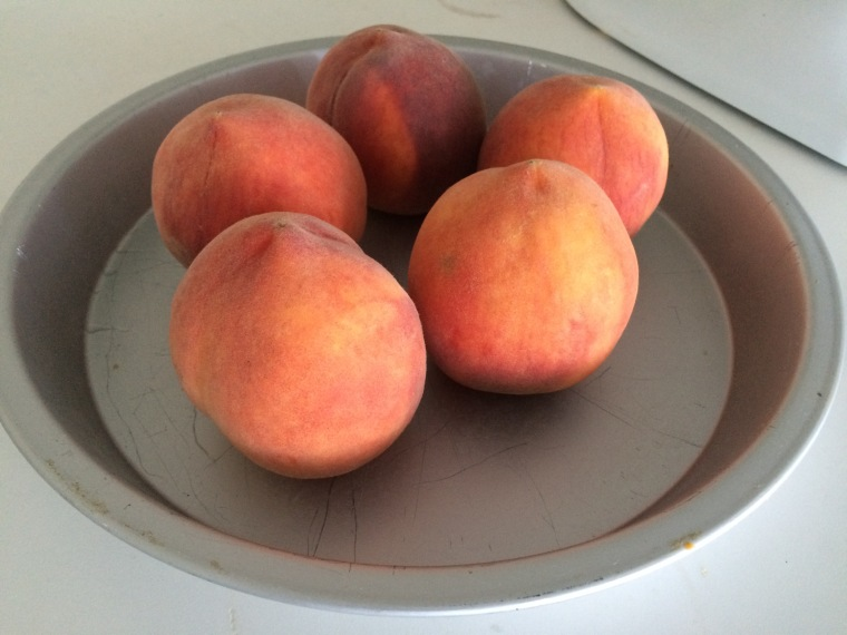 Berkeley Bowl peaches
