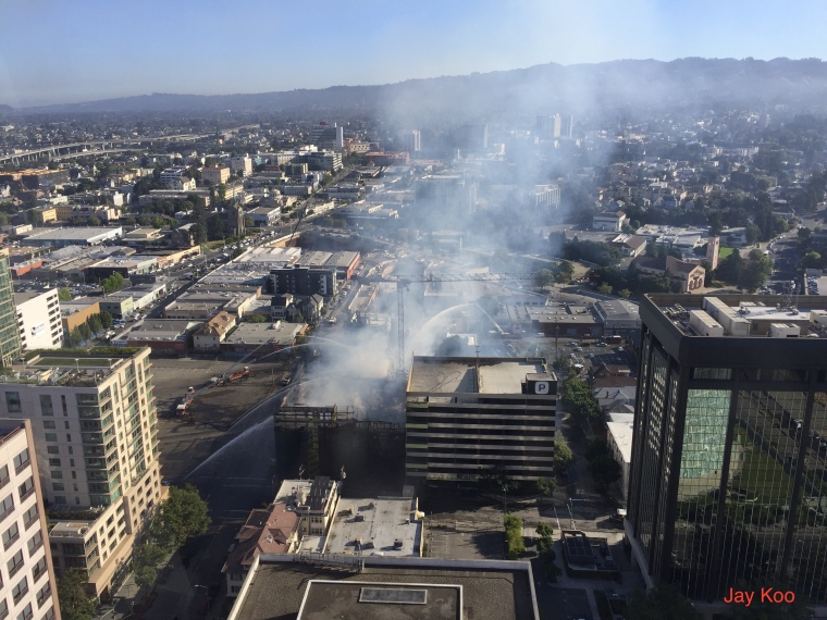 Fire view from Kaiser