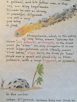 Gilgamesh letter